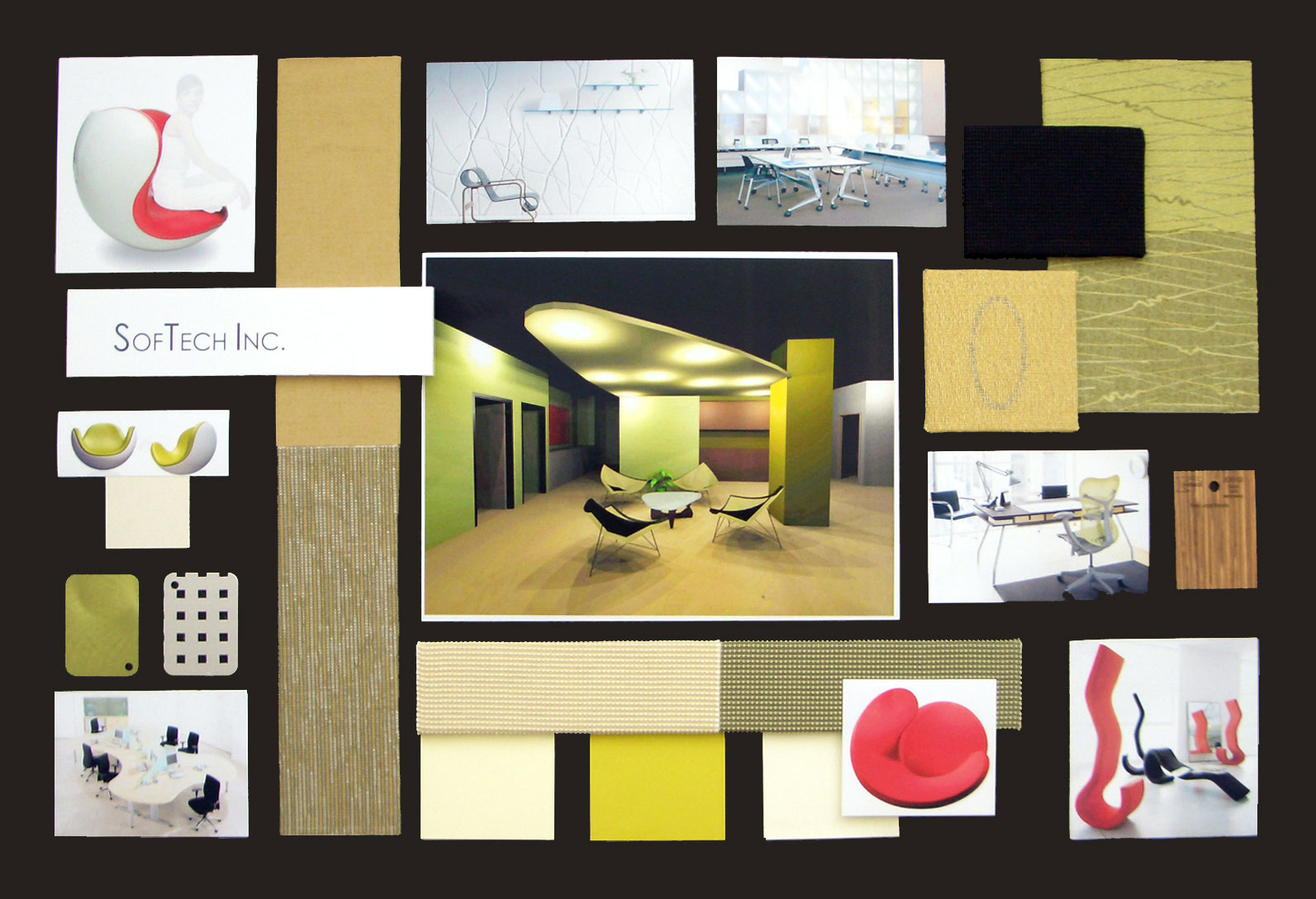 The Gallery For Interior Design Concept Board