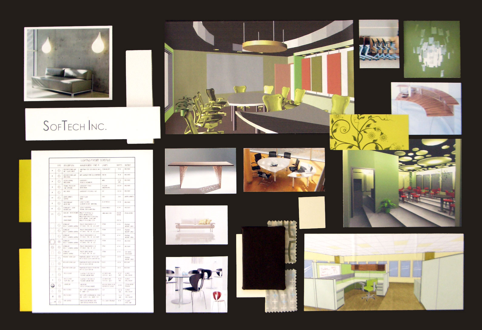 Design Concept Office Space | Olivia Interior Design
